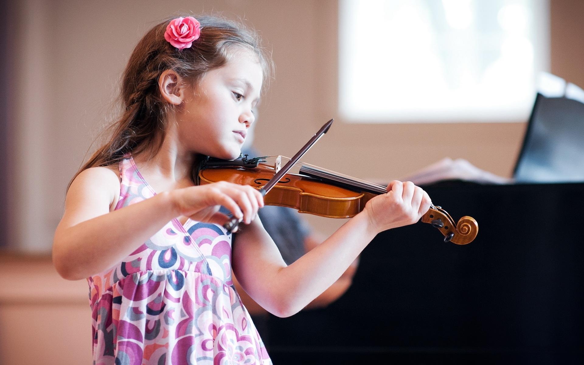 45587 скачать обои Музыка, Люди, Дети, Скрипки - заставки и картинки бесплатно