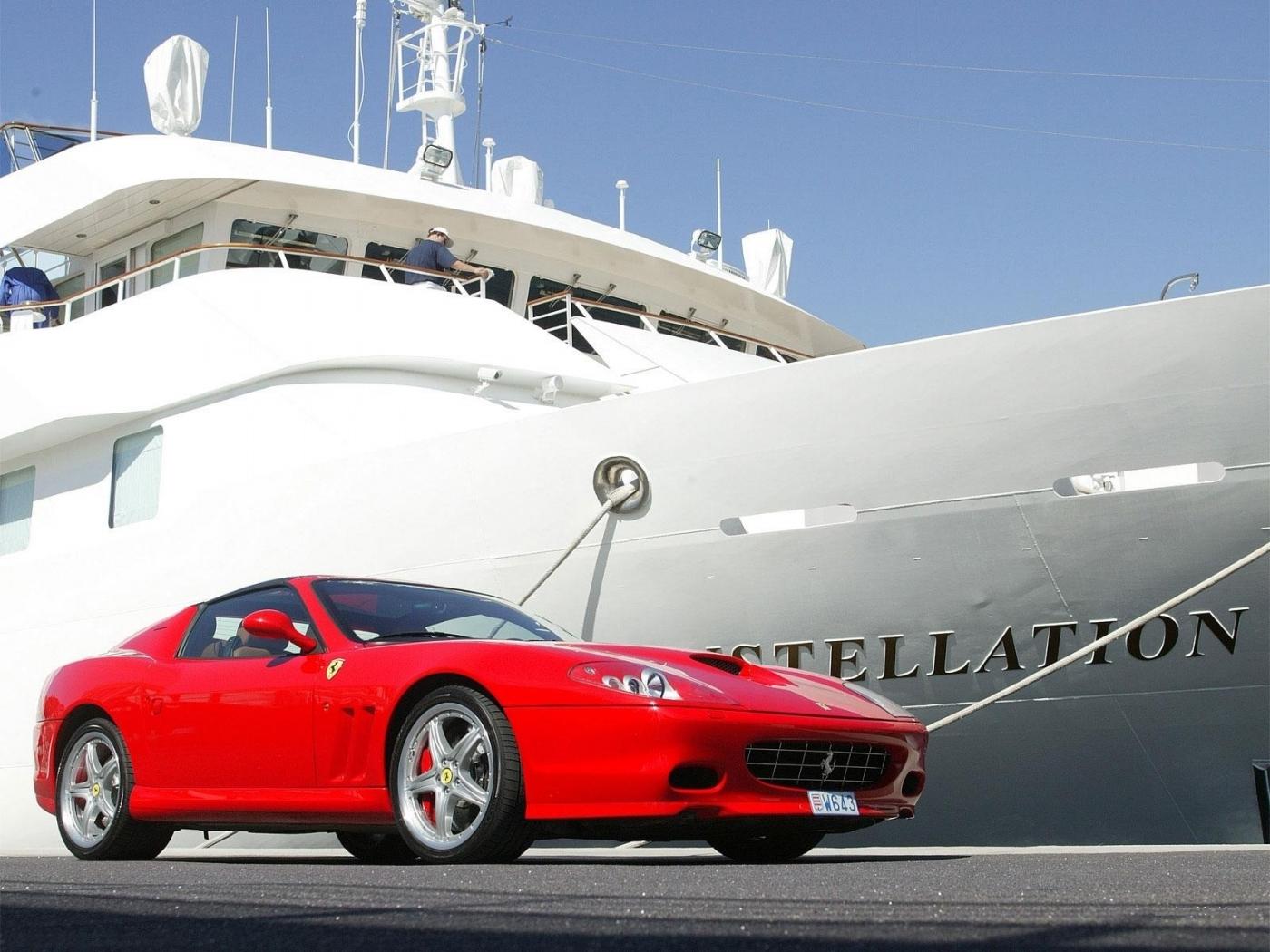 23243 скачать обои Транспорт, Машины, Яхты, Феррари (Ferrari) - заставки и картинки бесплатно