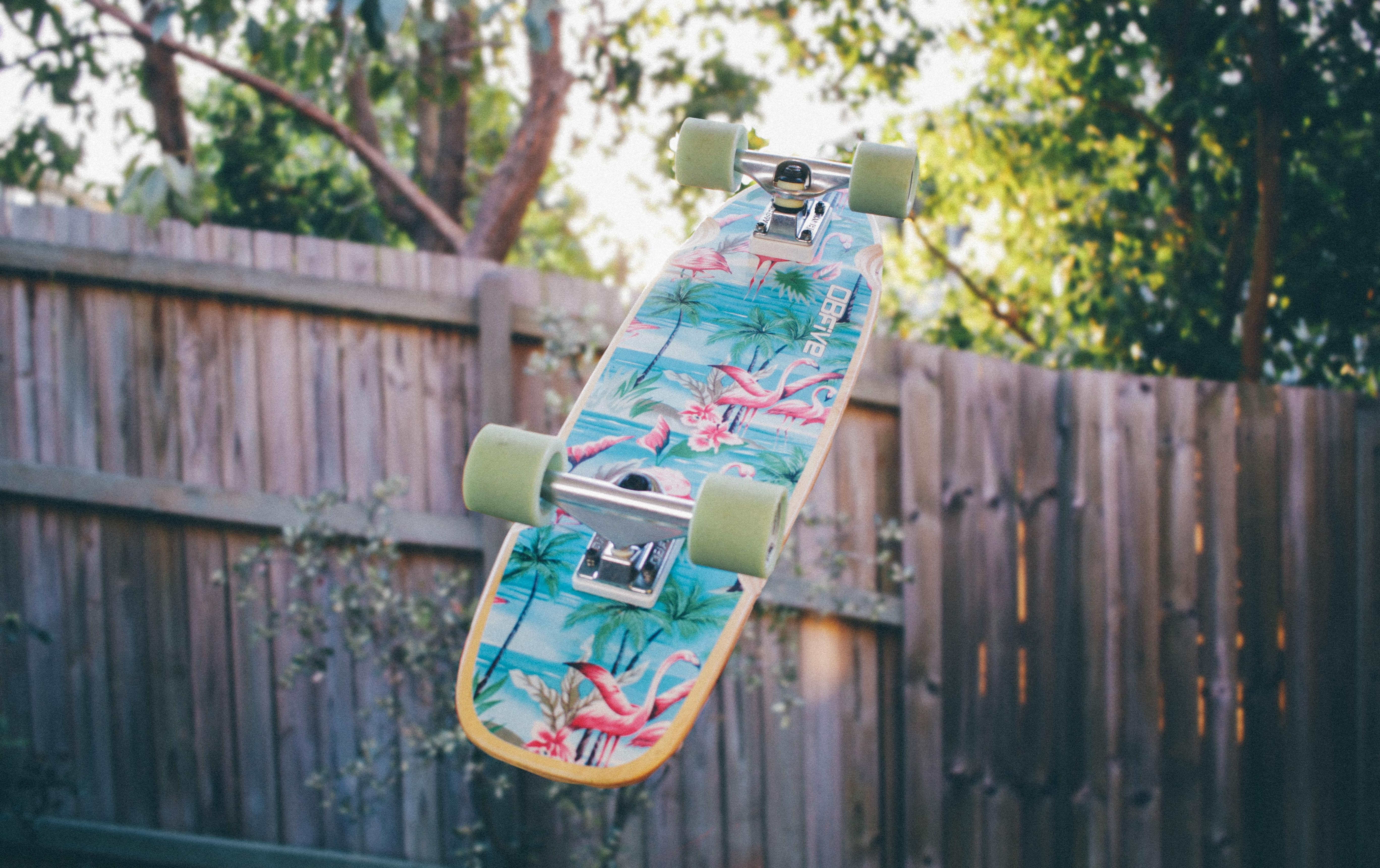 88620 скачать обои Скейтборд, Спорт, Забор - заставки и картинки бесплатно