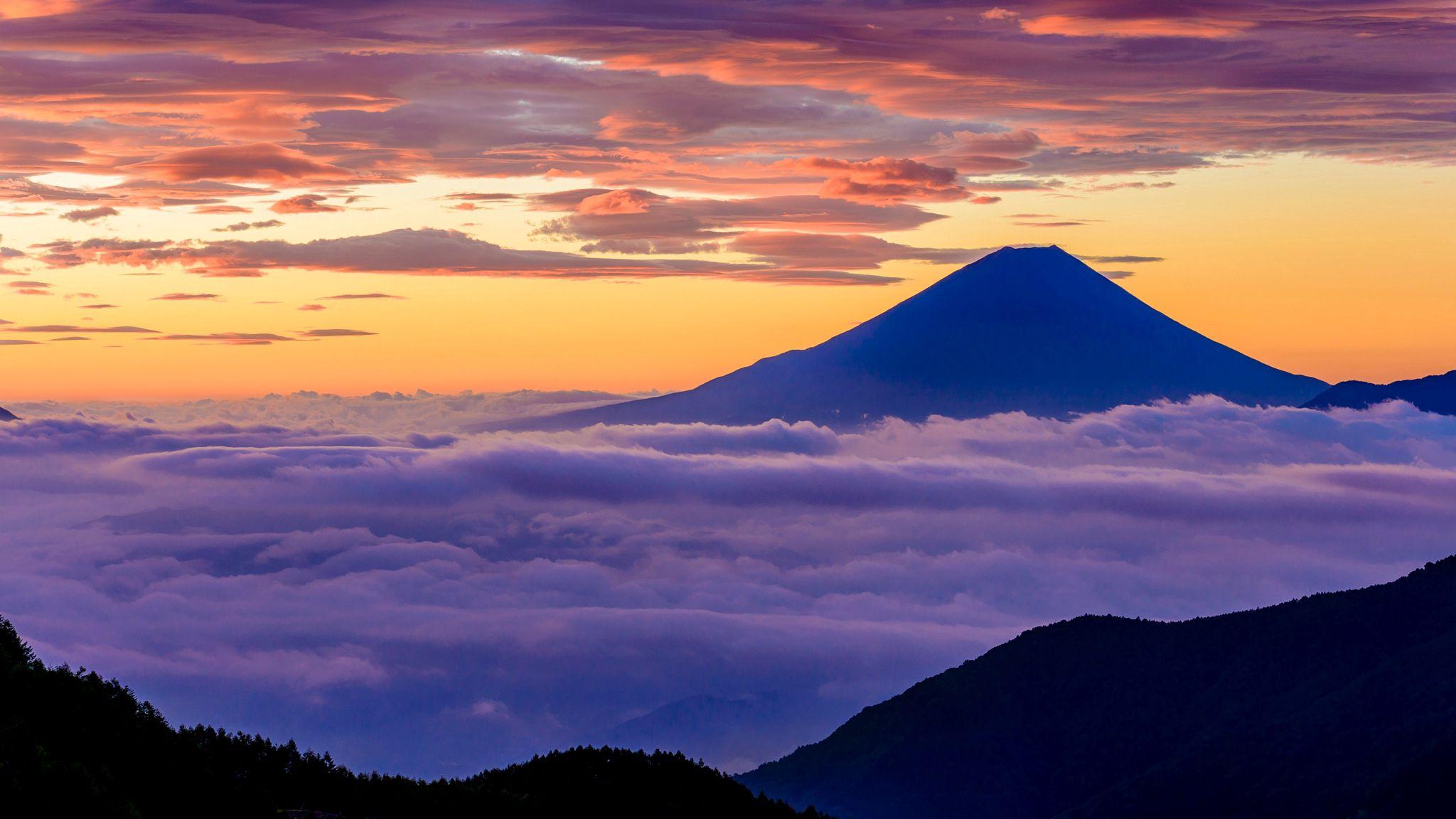 147535 download wallpaper Nature, Japan, Island, Fuji, Fujiyama, Honshu screensavers and pictures for free