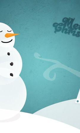 111852 скачать обои Праздники, Снеговик, Елка, Надпись, Пожелания, Рождество - заставки и картинки бесплатно