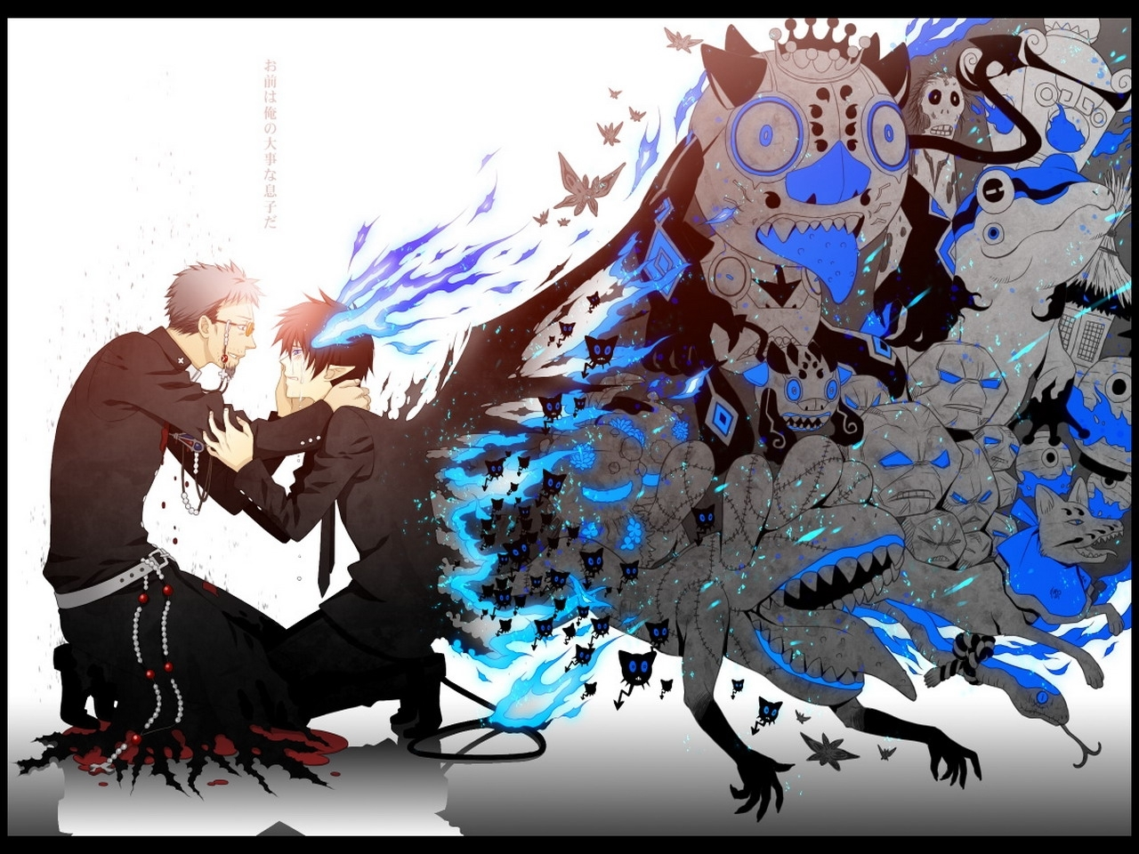 27758 Screensavers and Wallpapers Demons for phone. Download Anime, Men, Demons pictures for free
