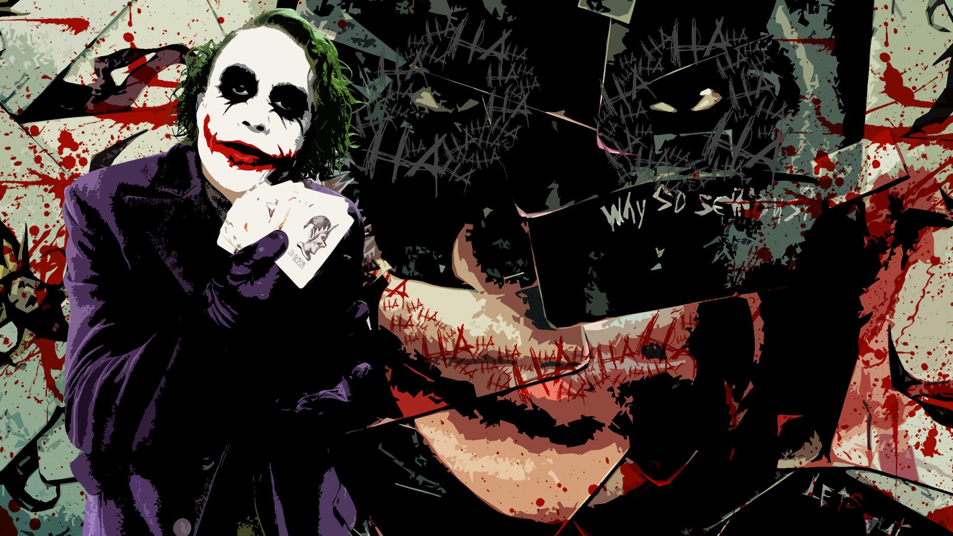 13169 download wallpaper Cinema, Batman, Joker screensavers and pictures for free