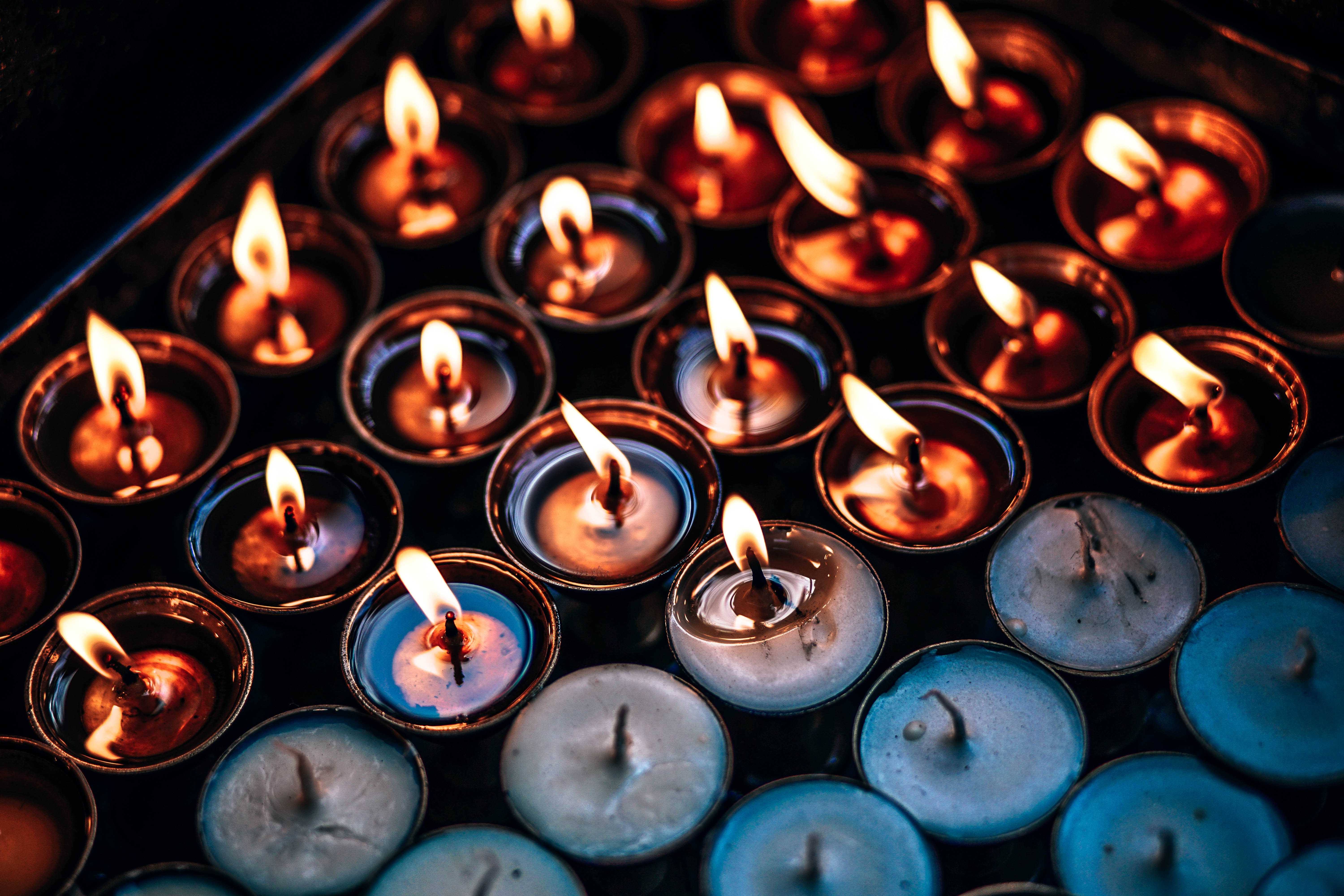 58343 Screensavers and Wallpapers Candles for phone. Download Candles, Flame, Miscellanea, Miscellaneous, Wax pictures for free