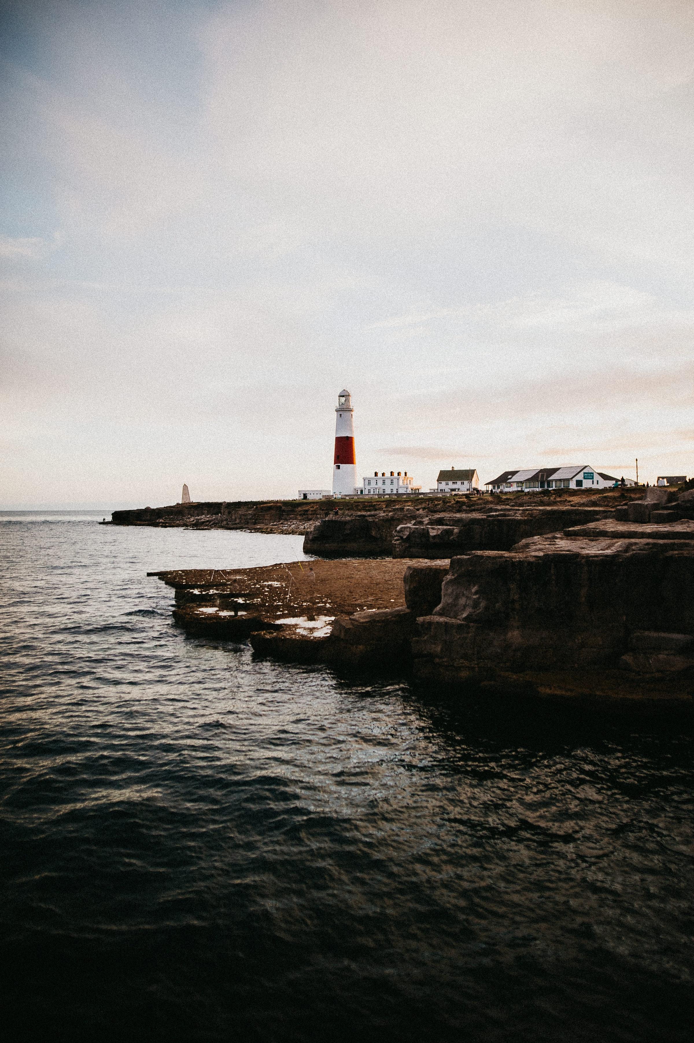 148611壁紙のダウンロード自然, 灯台, 建物, 海岸, 海, 地平線, 水-スクリーンセーバーと写真を無料で