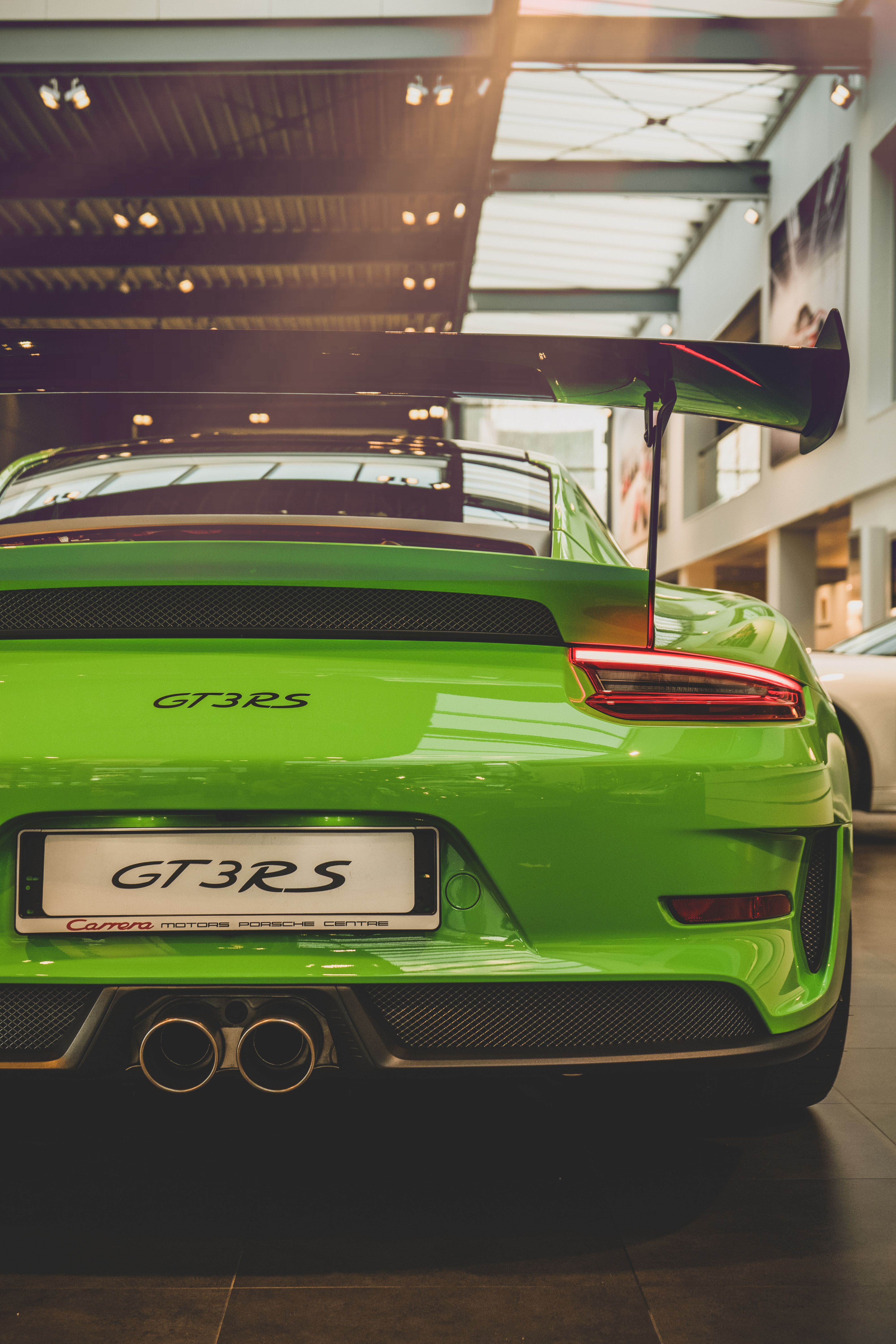 107532 download wallpaper Porsche, Cars, Back View, Rear View, Porsche 911, Porsche 911 Gt3 Rs screensavers and pictures for free