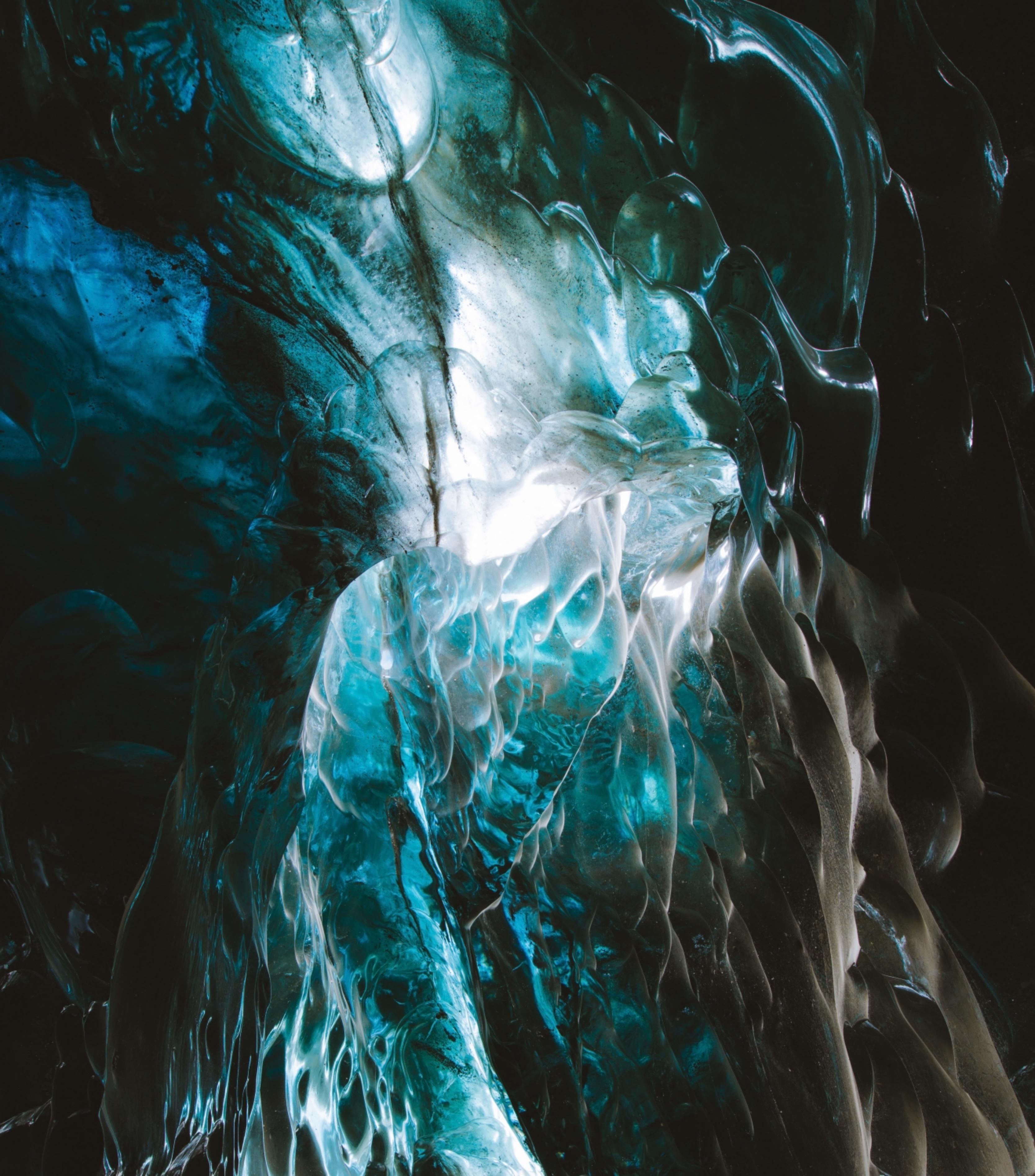 55872 скачать обои Природа, Ледник, Лед, Пещера, Структура - заставки и картинки бесплатно
