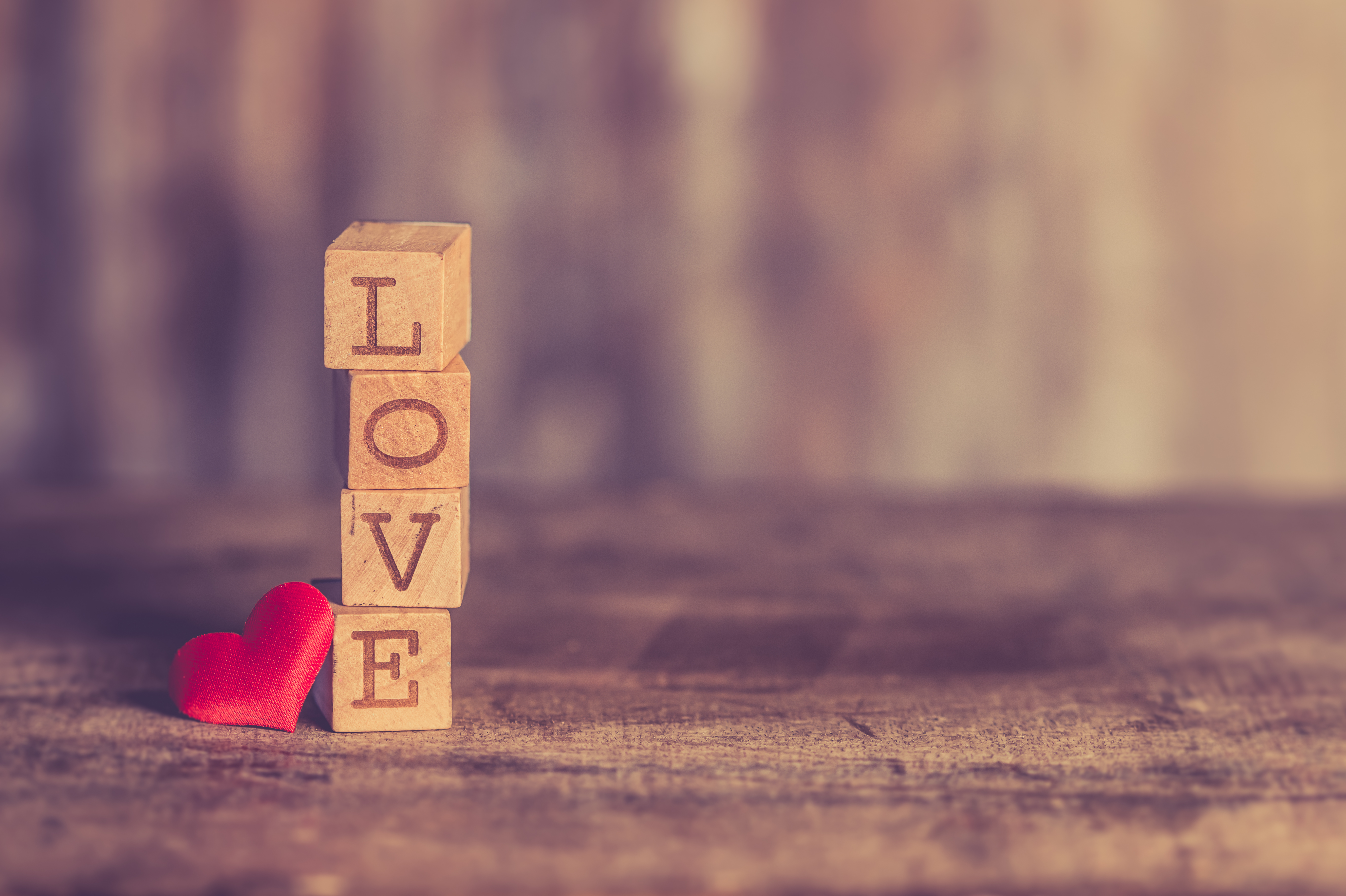 145679 download wallpaper Words, Cubes, Love, Heart screensavers and pictures for free