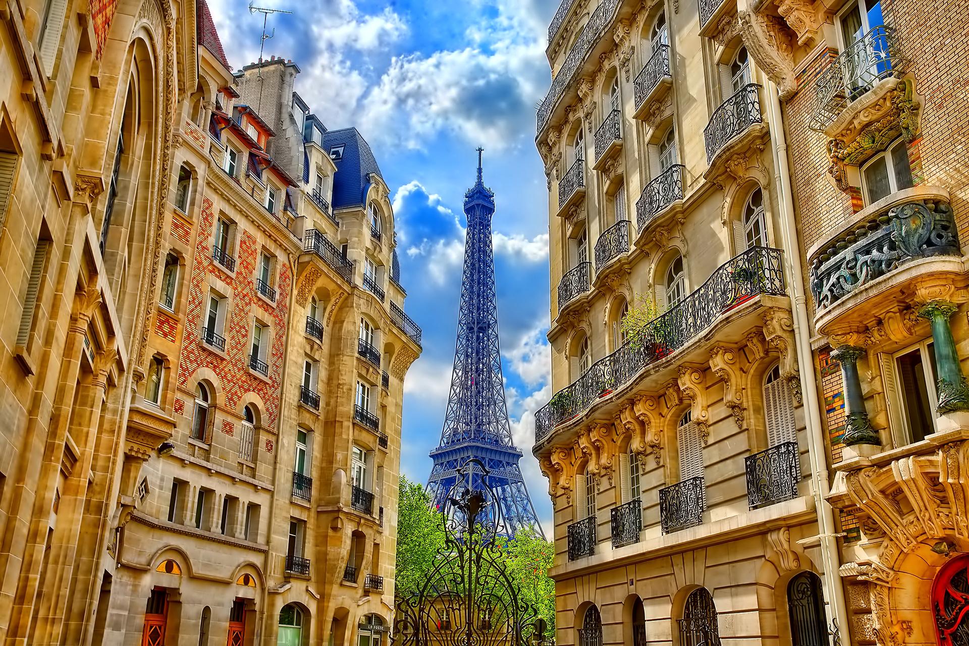 150304 télécharger le fond d'écran Paris, France, Imeuble, Bâtiment, Villes, Tour Eiffel - économiseurs d'écran et images gratuitement