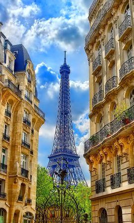 150304 baixar papel de parede Paris, França, Prédio, Edifício, Cidades, Torre Eiffel - protetores de tela e imagens gratuitamente