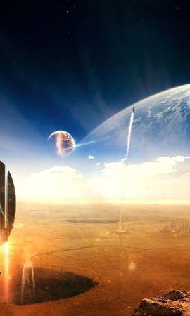 27103 скачать обои Фэнтези, Планеты, Космос - заставки и картинки бесплатно
