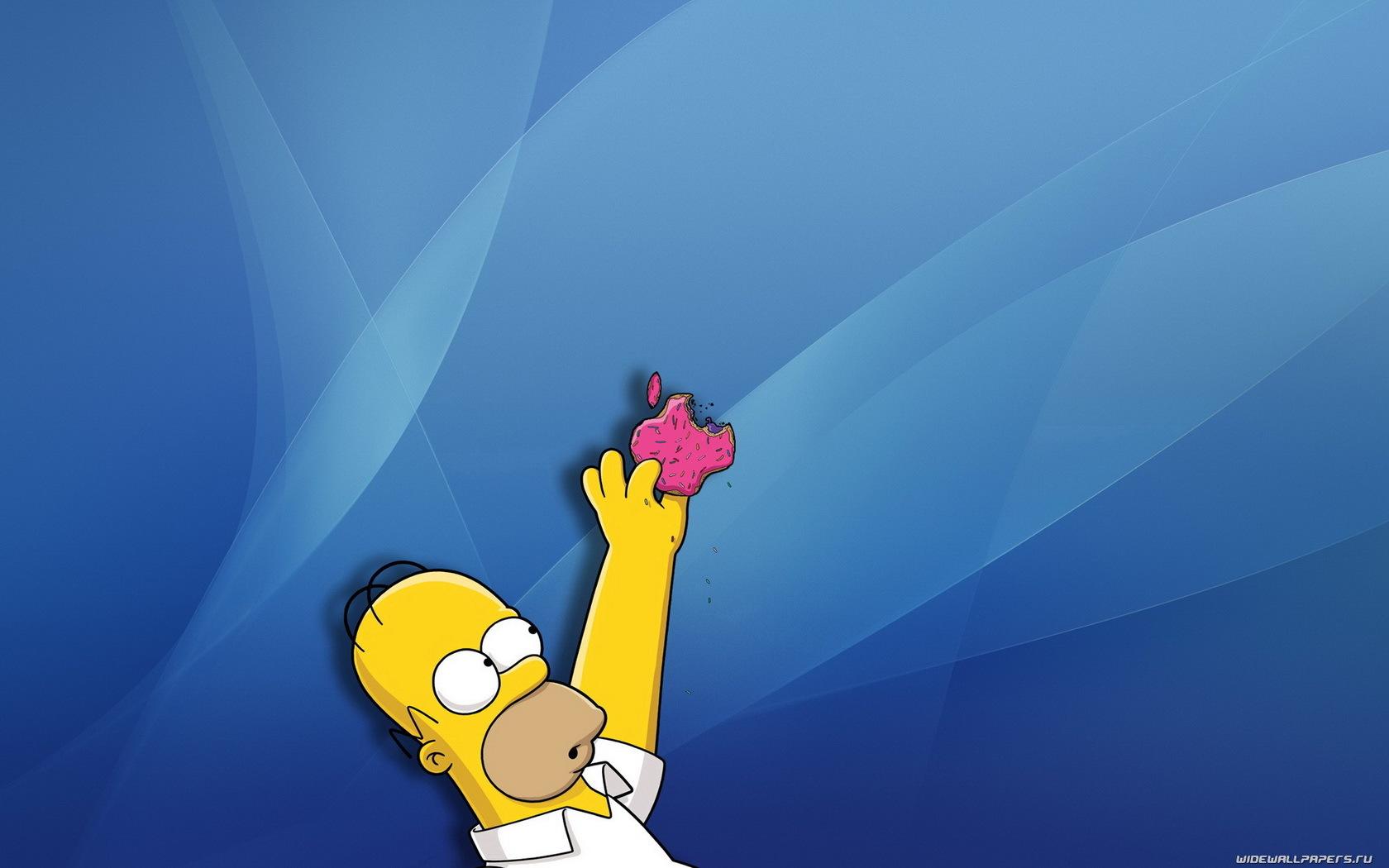 66 Hintergrundbild herunterladen Marken, Humor, Logos, Apple-, Homer Simpson - Bildschirmschoner und Bilder kostenlos