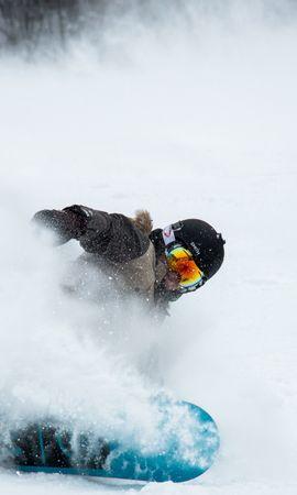 146465 télécharger le fond d'écran Sport, Snowboarder, Neige, Casque, Lunettes - économiseurs d'écran et images gratuitement