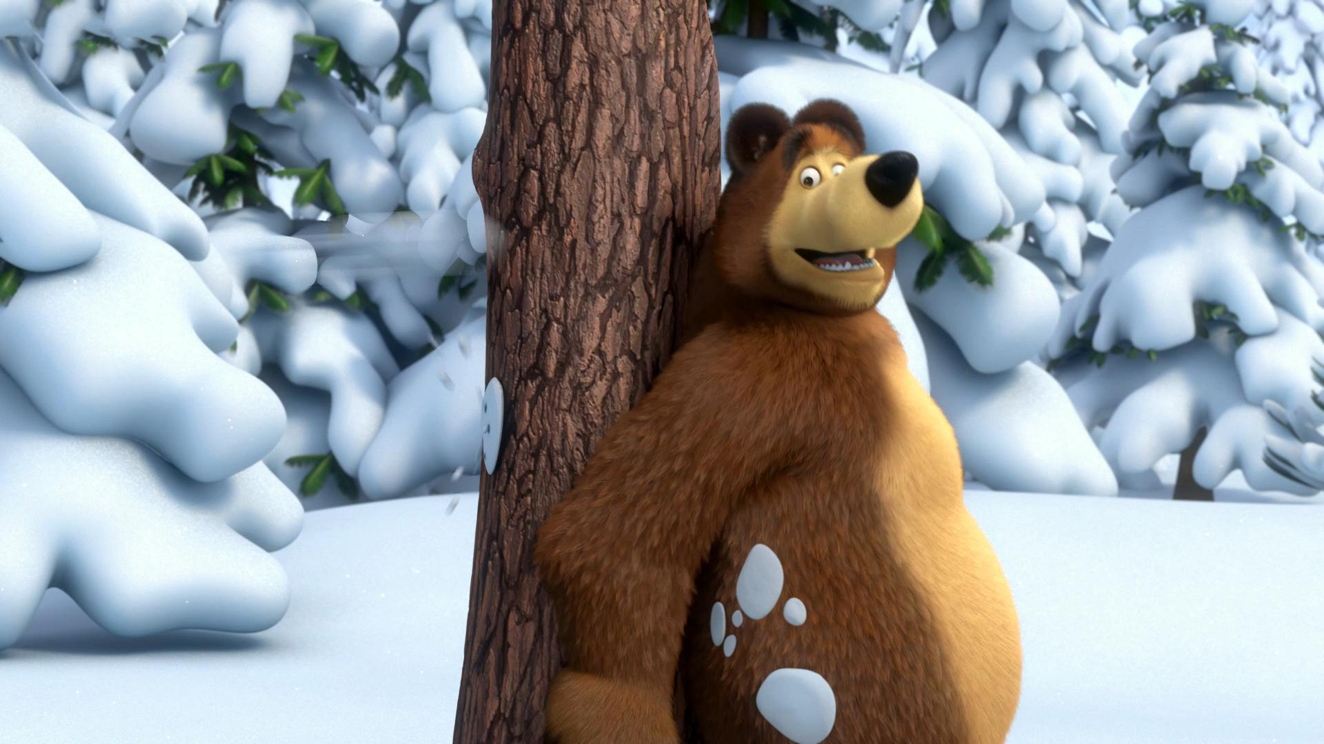 37772 Screensavers and Wallpapers Masha And The Bear for phone. Download Cartoon, Masha And The Bear pictures for free