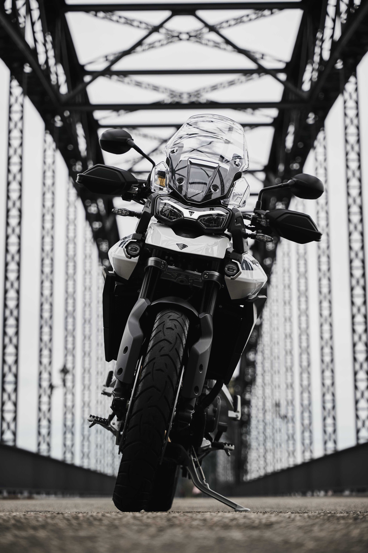 145117 Заставки и Обои Мотоциклы на телефон. Скачать Мотоциклы, Вид Спереди, Мотоцикл, Байк, Triumph, Triumph Tiger 900 картинки бесплатно