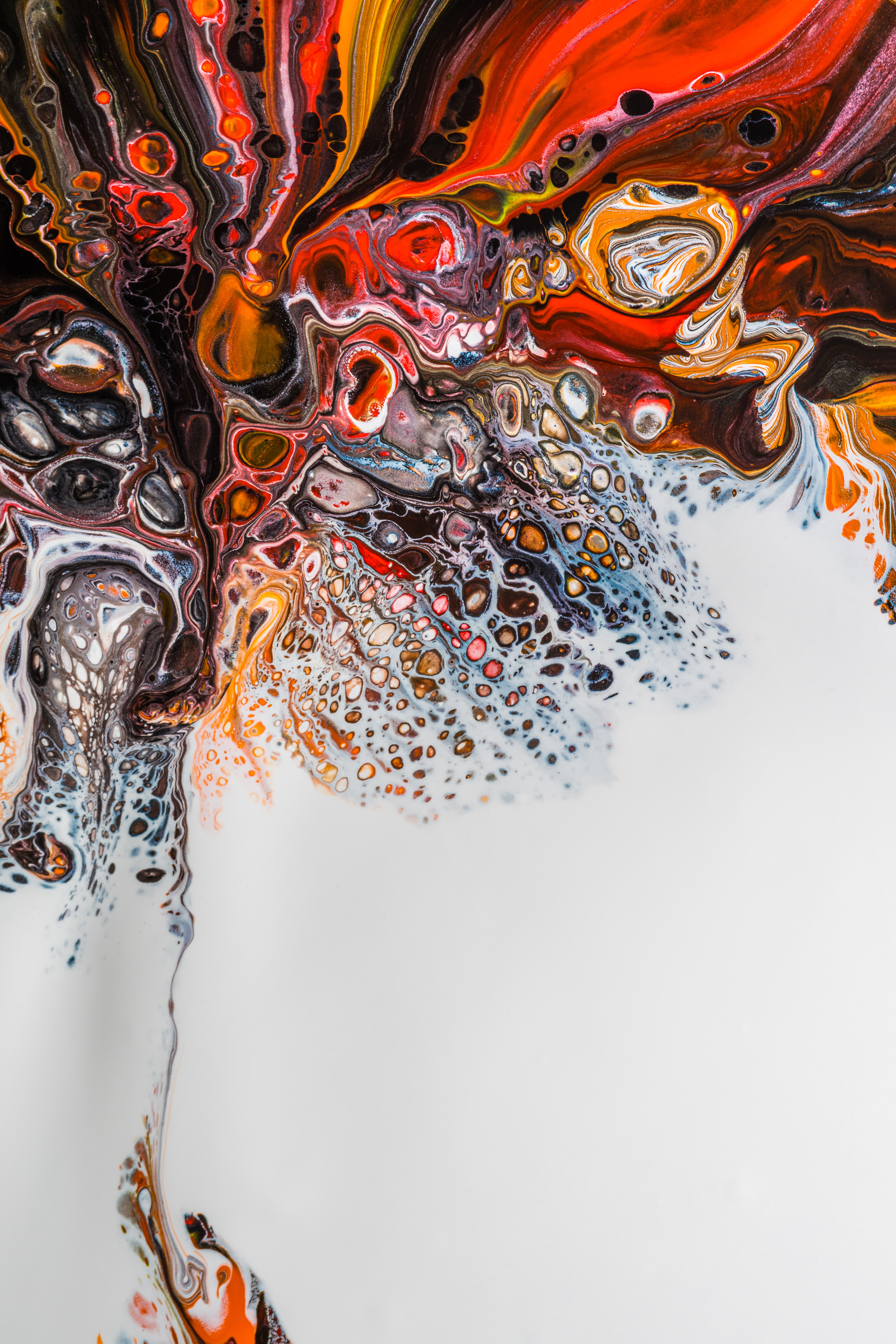 146634 download wallpaper Abstract, Paint, Stains, Spots, Liquid, Fluid Art, Divorces, Multicolored, Motley screensavers and pictures for free