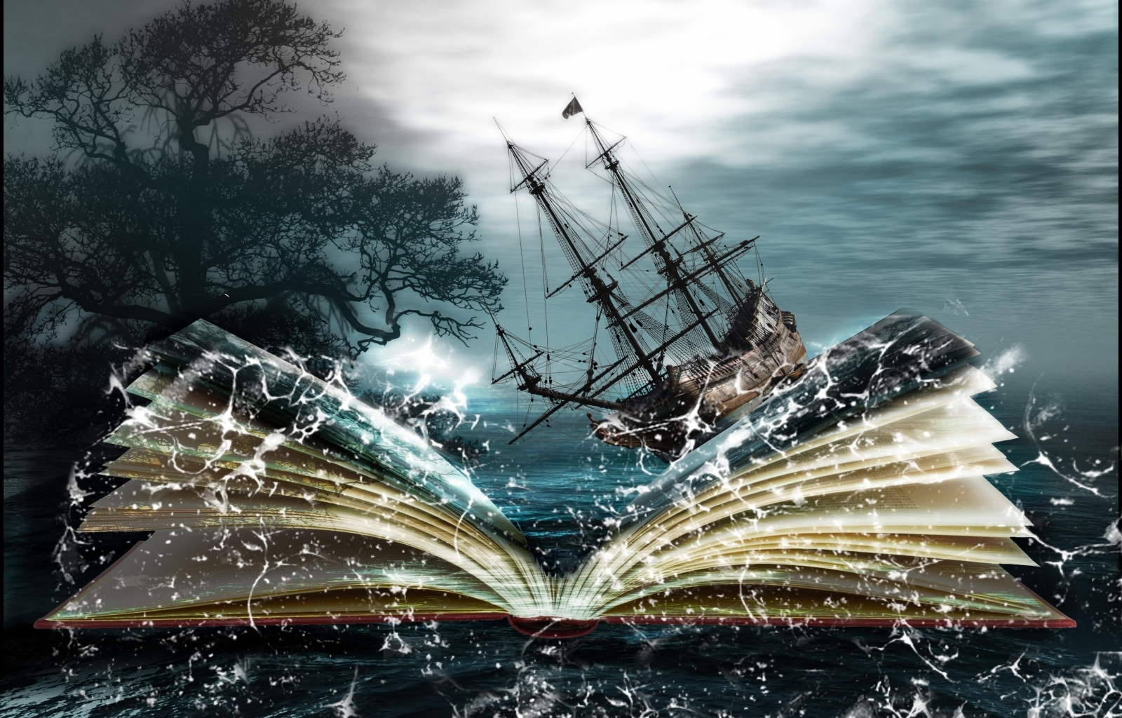 29188 скачать обои Корабли, Фэнтези, Море, Артфото - заставки и картинки бесплатно