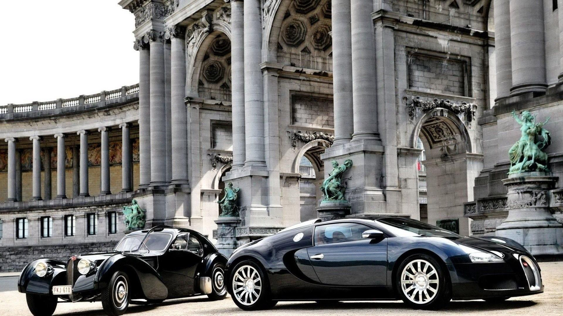 89238 download wallpaper Bugatti, Cars, Building, Construction, Veyron, Luxury, Parked screensavers and pictures for free