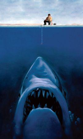 32107 baixar papel de parede Engraçado, Pessoas, Sharks, Imagens - protetores de tela e imagens gratuitamente