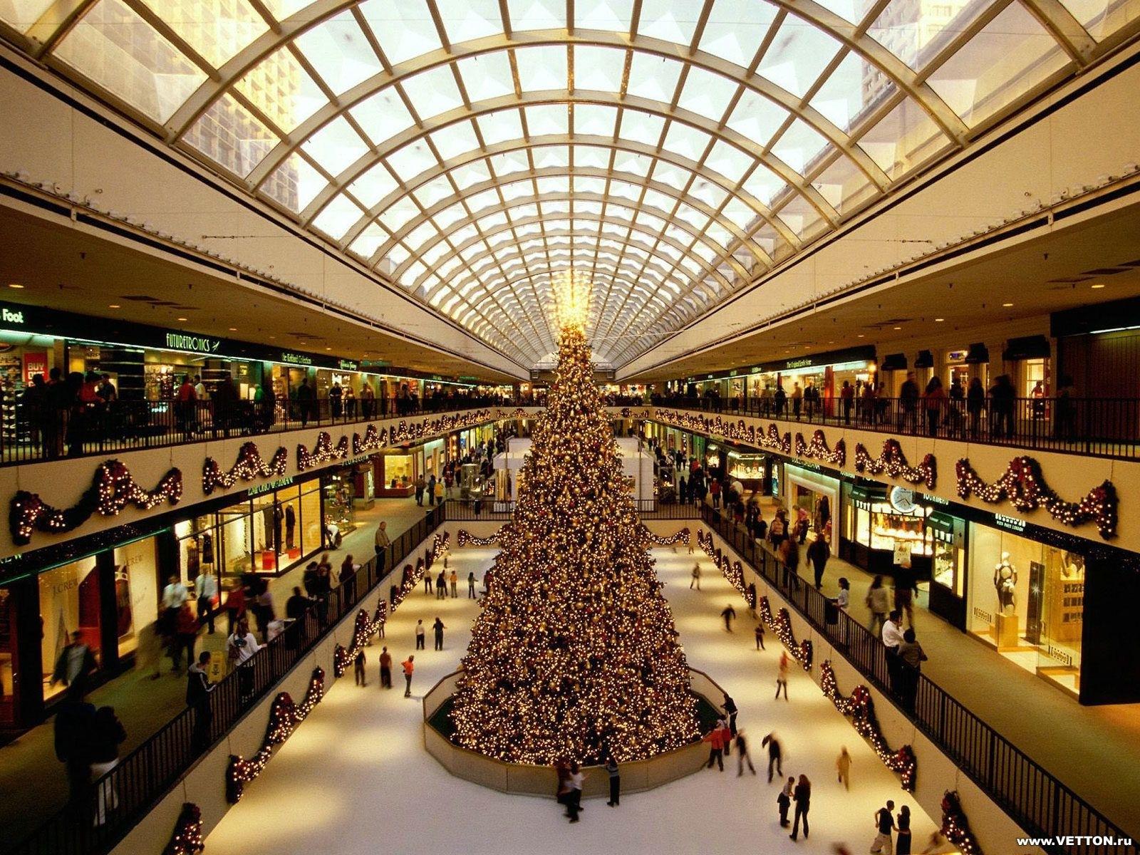 2220 скачать обои Праздники, Города, Люди, Новый Год (New Year), Елки, Рождество (Christmas, Xmas) - заставки и картинки бесплатно