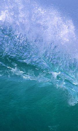 24814 скачать обои Пейзаж, Море, Волны - заставки и картинки бесплатно