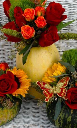24583 скачать обои Растения, Цветы, Букеты - заставки и картинки бесплатно