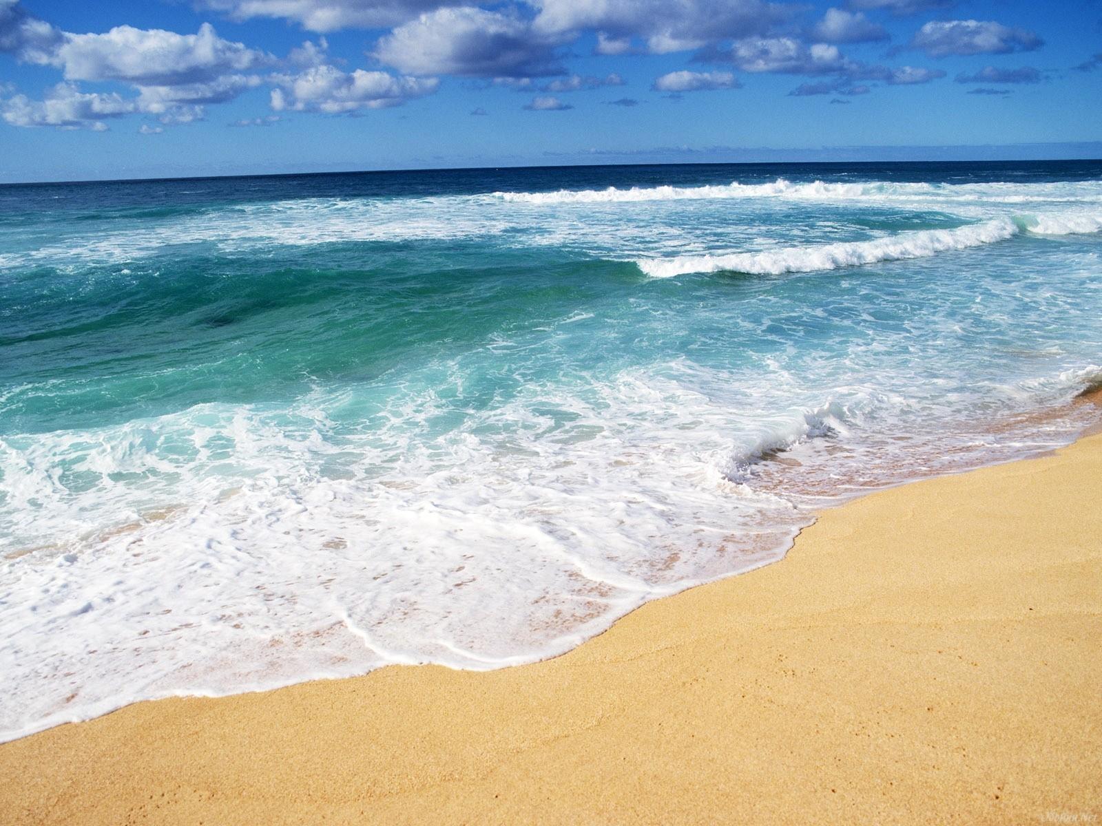 27975 скачать обои Пейзаж, Море, Волны, Пляж - заставки и картинки бесплатно
