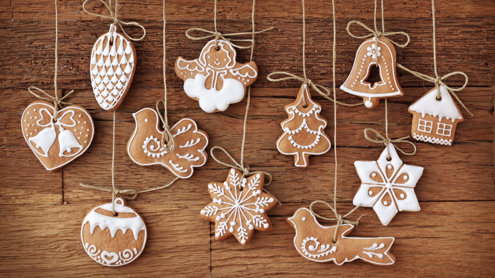 28679 download wallpaper Holidays, Food, Christmas, Xmas, Cookies screensavers and pictures for free