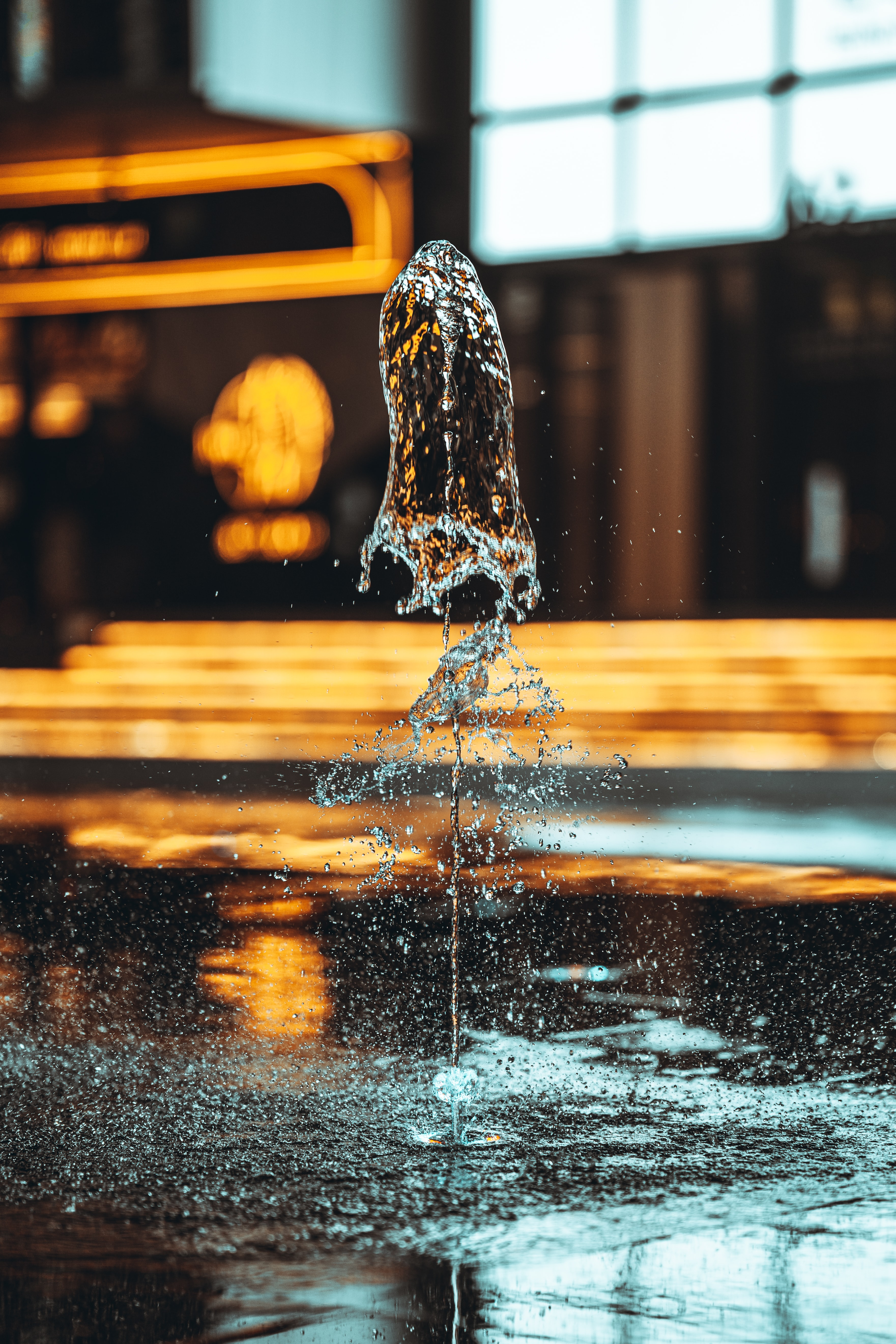 138085 Screensavers and Wallpapers Fountain for phone. Download Water, Drops, Fountain, Miscellanea, Miscellaneous, Spray pictures for free