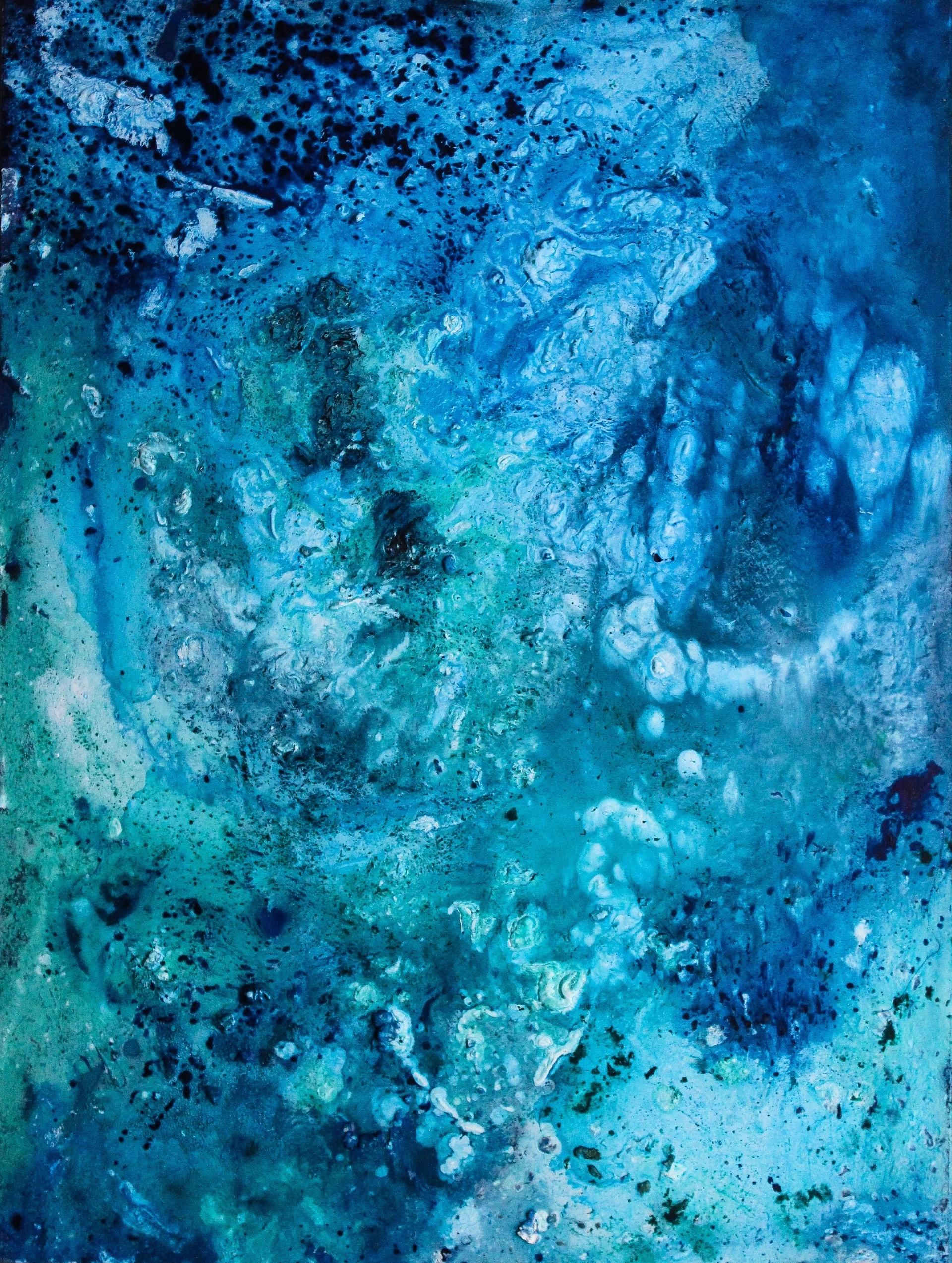 103693 скачать обои Пятна, Абстракция, Разводы, Текстура, Синий - заставки и картинки бесплатно