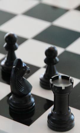 112836 скачать обои Спорт, Шахматная Доска, Фигуры, Чб, Шахматы - заставки и картинки бесплатно