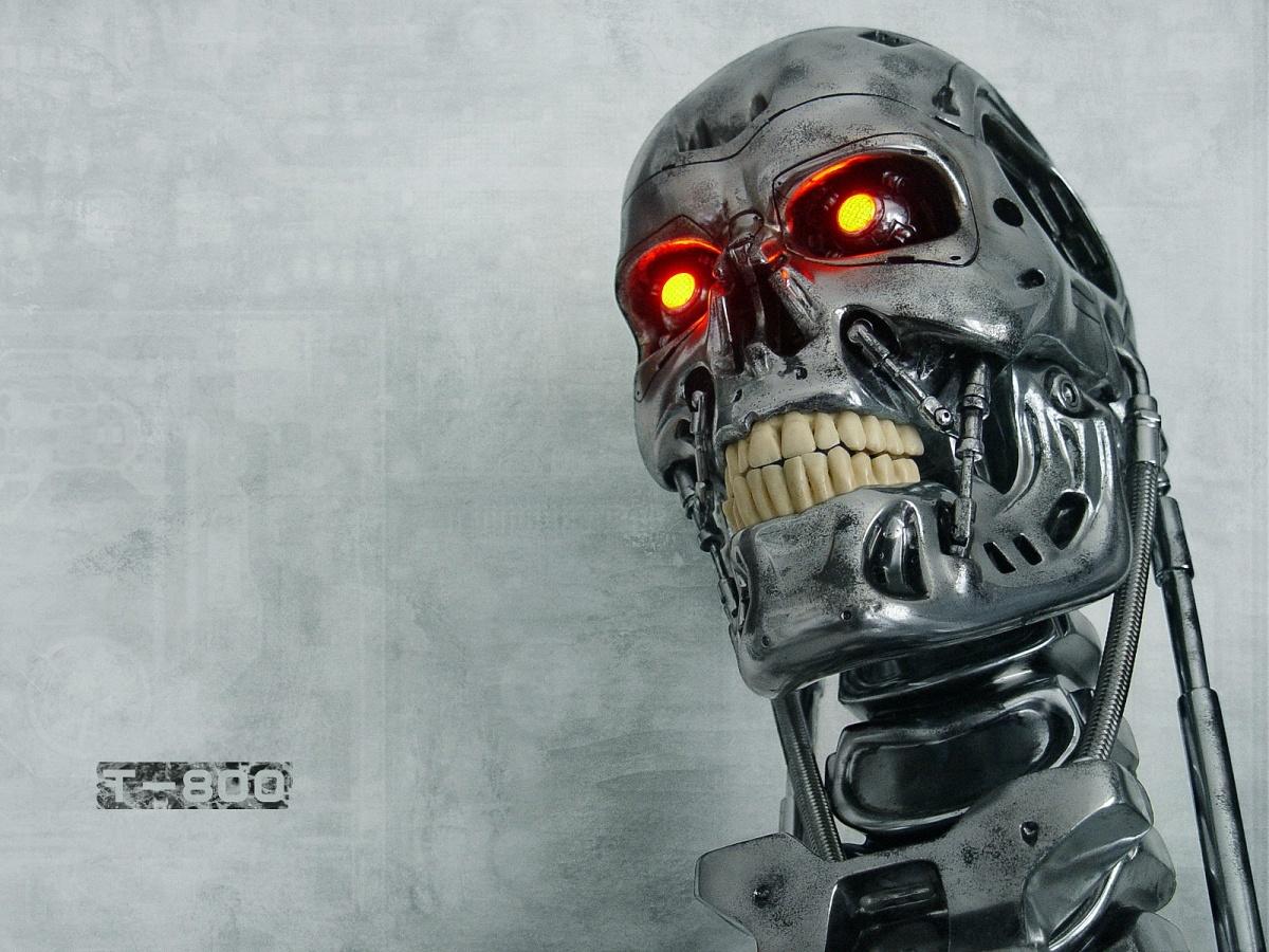 9706 Hintergrundbild herunterladen Kino, Robots, Terminator - Bildschirmschoner und Bilder kostenlos