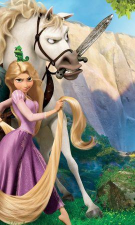 41302 Заставки и Обои Мультфильмы на телефон. Скачать Мультфильмы, Рапунцель (Rapunzel) картинки бесплатно