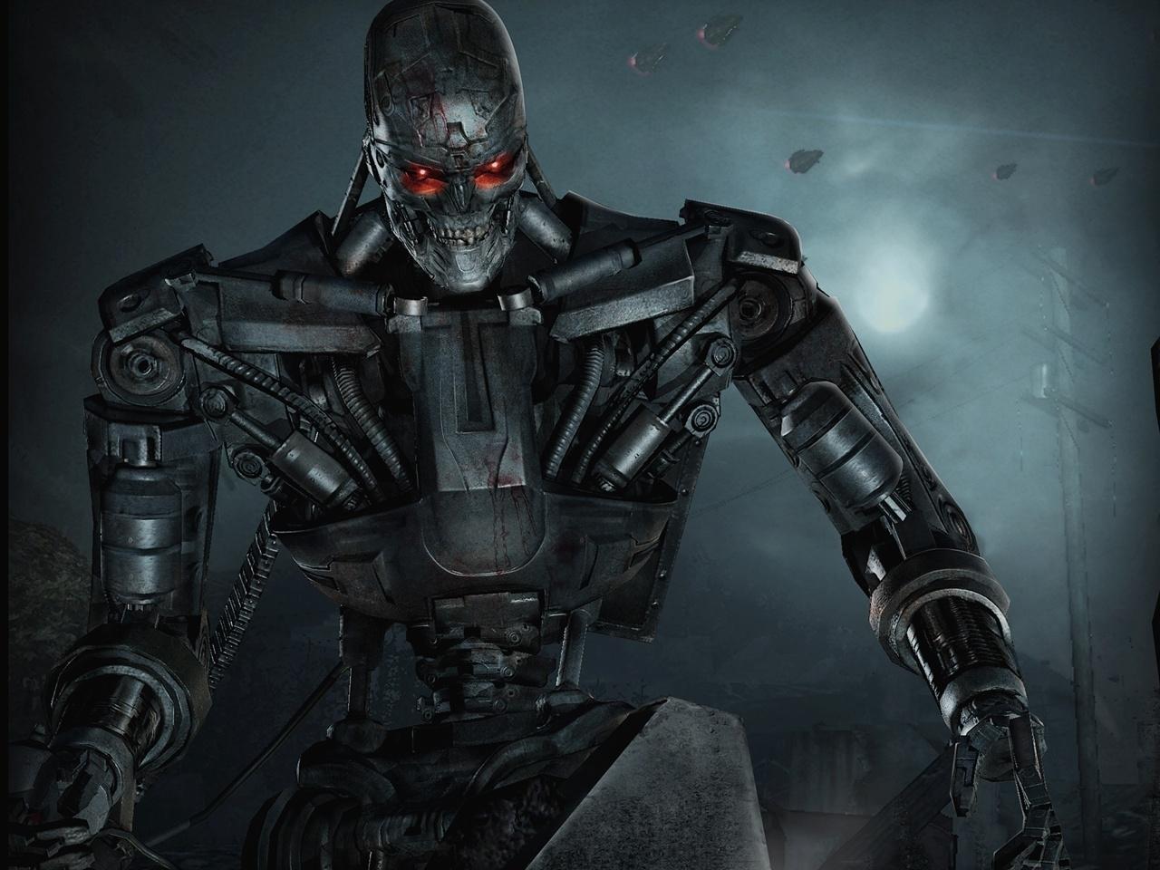 23508 Hintergrundbild herunterladen Kino, Terminator - Bildschirmschoner und Bilder kostenlos