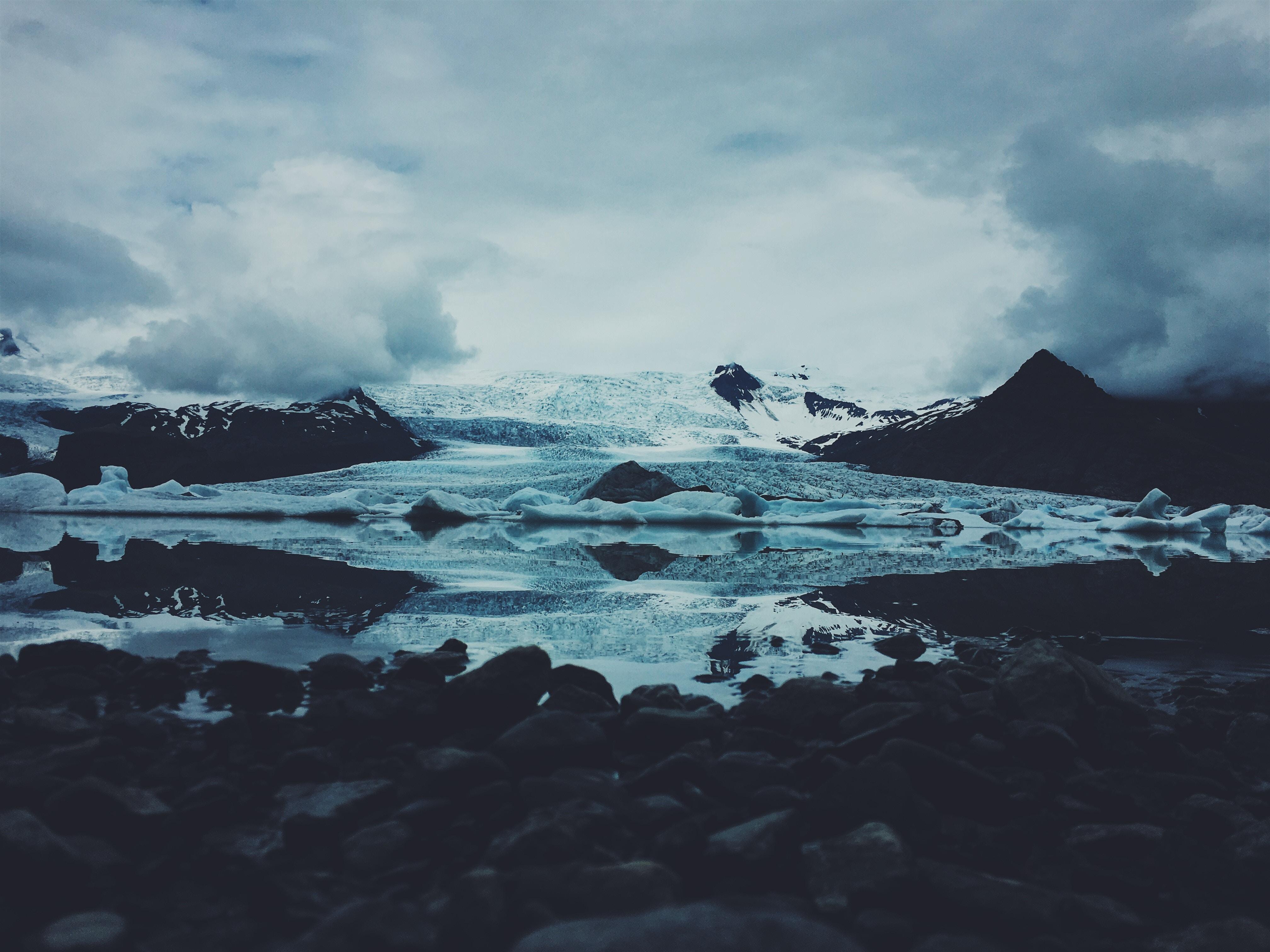 123807 скачать обои Природа, Лед, Снег, Камни - заставки и картинки бесплатно