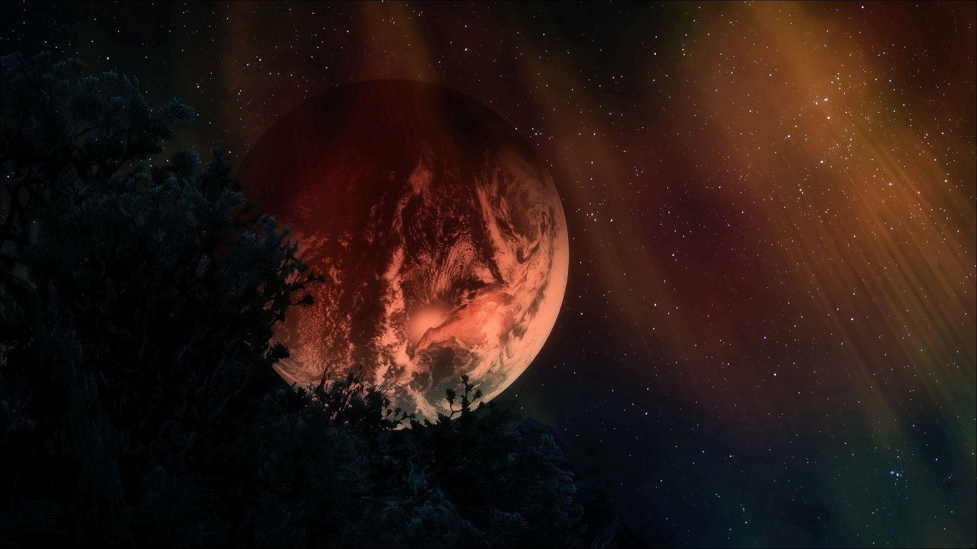 140188 Заставки и Обои 3D на телефон. Скачать 3D, Космос, Небо, Арт, Звезды, Ночь, Темный, Планета картинки бесплатно