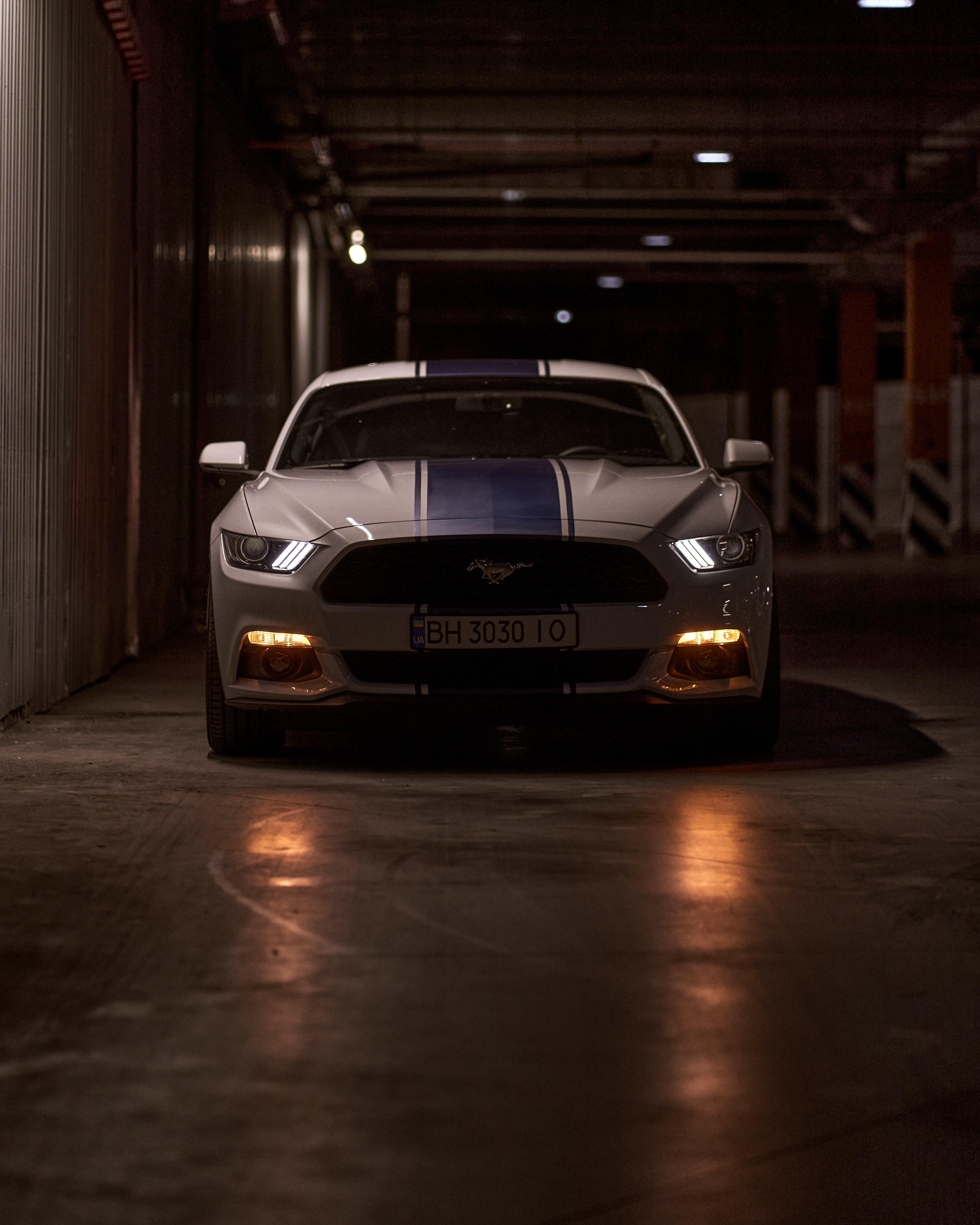 147453 скачать обои Тачки (Cars), Mustang Gt, Мустанг (Mustang), Спорткар, Автомобиль, Вид Спереди, Фары - заставки и картинки бесплатно
