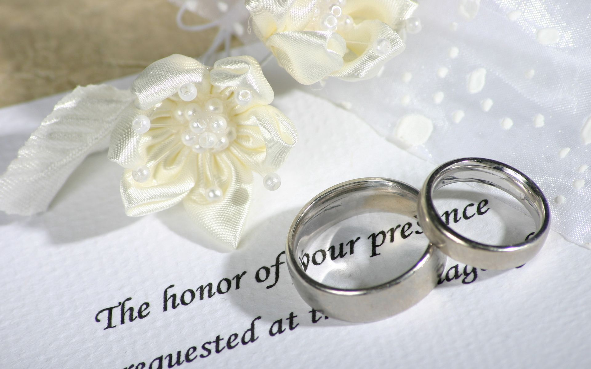 154368 скачать обои Свадьба, Любовь, Кольца, Обручальный, Приглашение - заставки и картинки бесплатно