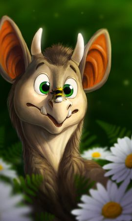 106023 Screensavers and Wallpapers Funny for phone. Download Dragon, Bumblebee, Funny, Art, Flowers pictures for free