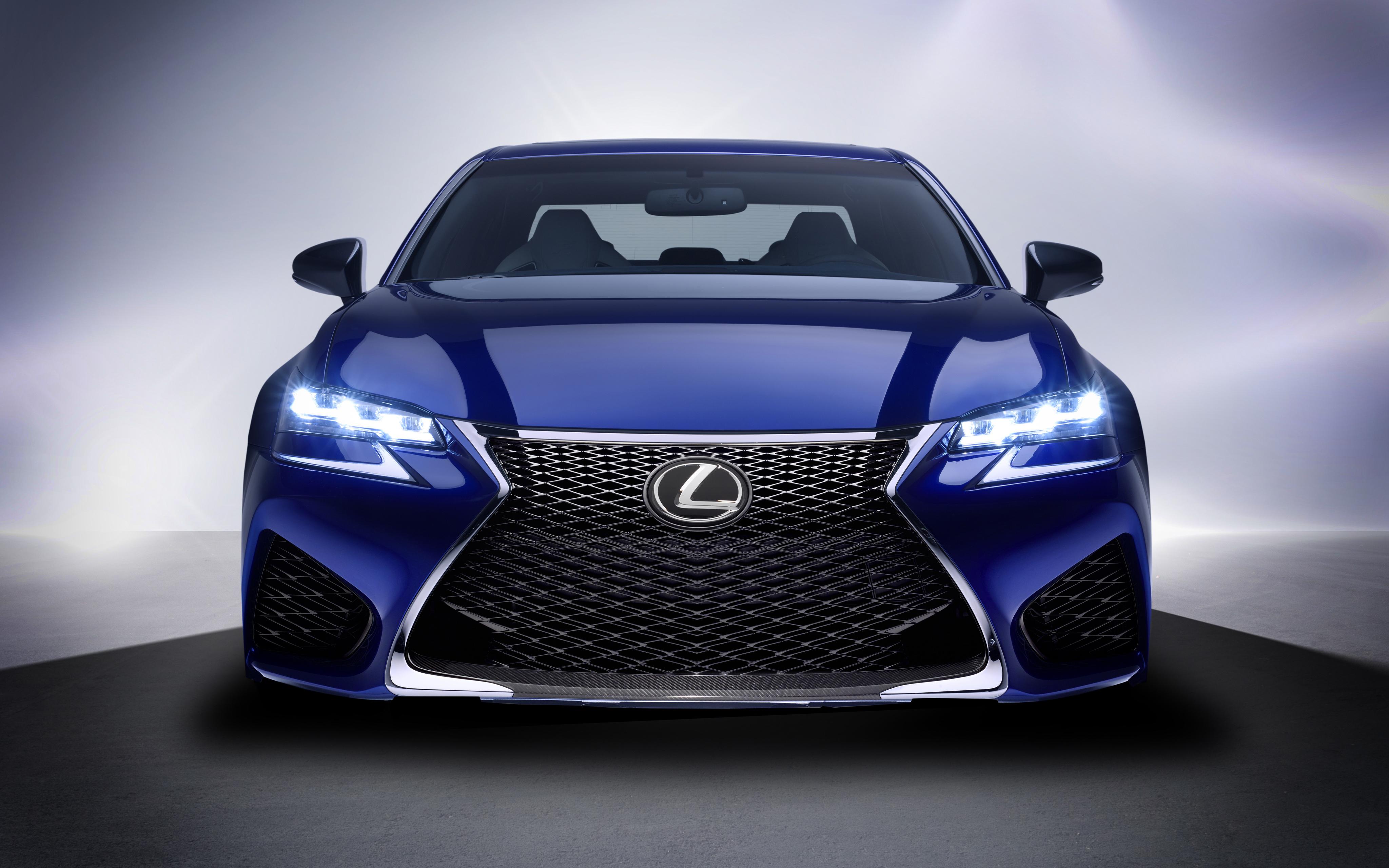 156076 Hintergrundbild herunterladen Lexus, Cars, Vorderansicht, Frontansicht, Lexus Gs F - Bildschirmschoner und Bilder kostenlos