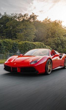 82070 télécharger le fond d'écran Voitures, Ferrari 458, Ferrari, Voiture, Voiture De Sport, Sportif, Circulation, Mouvement - économiseurs d'écran et images gratuitement