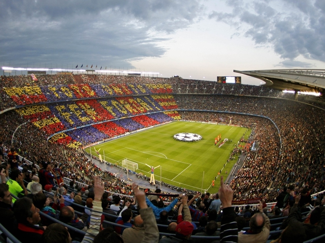 47728 download wallpaper Sports, Landscape, Football, Barcelona screensavers and pictures for free