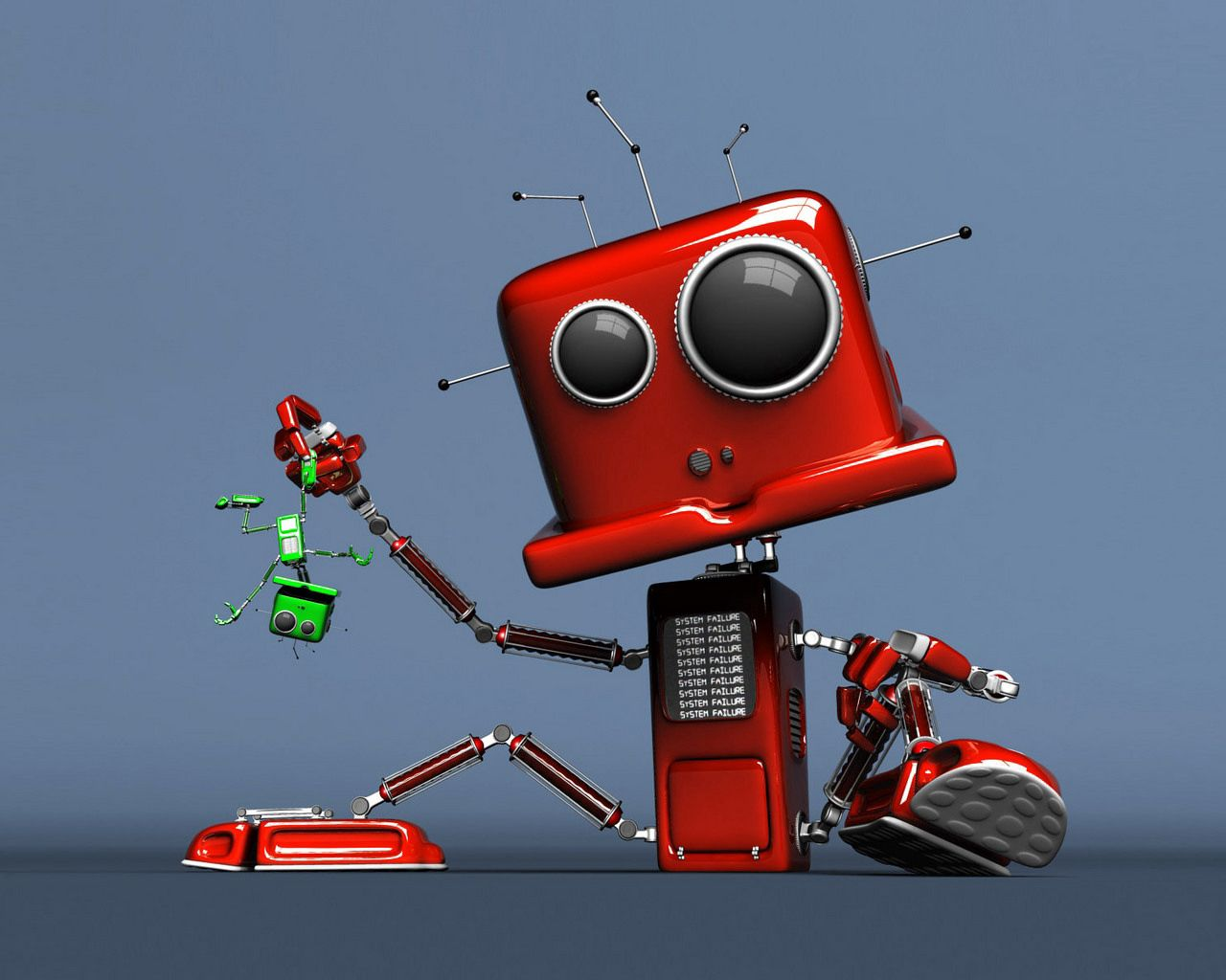114658 Screensavers and Wallpapers Robot for phone. Download Robot, 3D, Toy, Error pictures for free