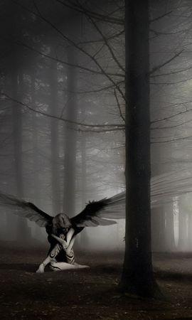 20655 скачать обои Фэнтези, Ангелы - заставки и картинки бесплатно
