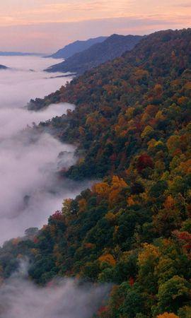 1021 скачать обои Пейзаж, Горы, Осень - заставки и картинки бесплатно