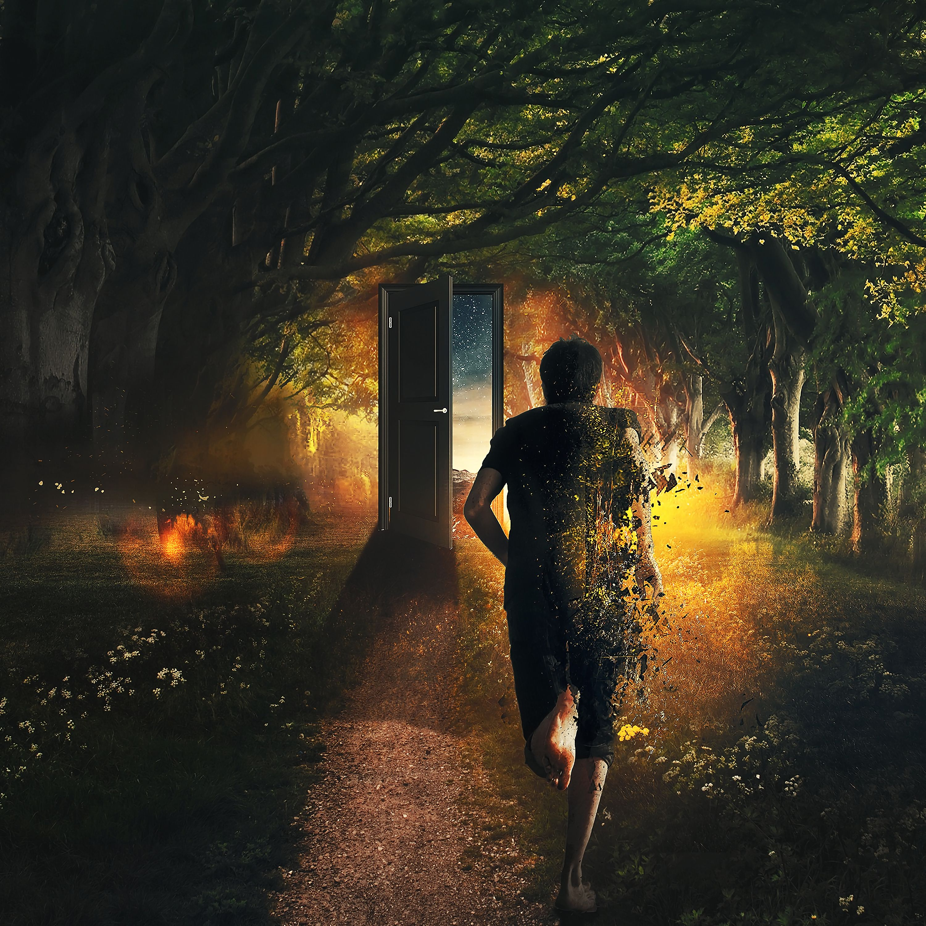 81900 Screensavers and Wallpapers Human for phone. Download Art, Forest, Human, Person, Imagination, Door, Run, Time, It's Time, Running pictures for free