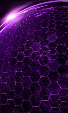 23077 скачать Фиолетовые обои на телефон бесплатно, Фон, Узоры Фиолетовые картинки и заставки на мобильный