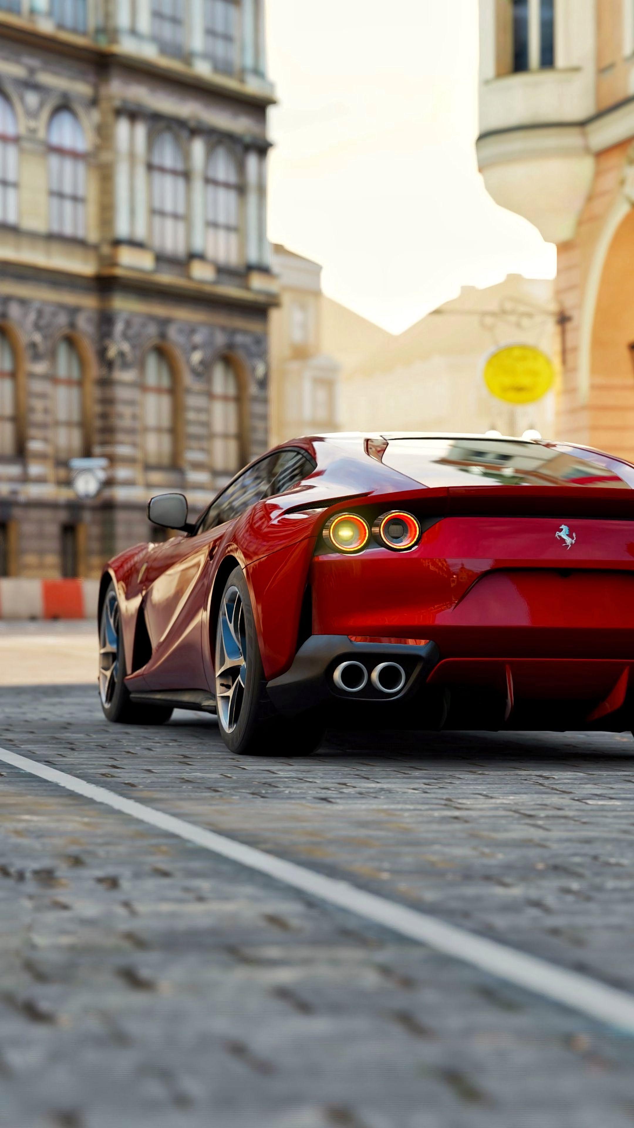 111860 download wallpaper Ferrari, Sports, Cars, Sports Car, Ferrari 812 Superfast, Ferrari 812 screensavers and pictures for free