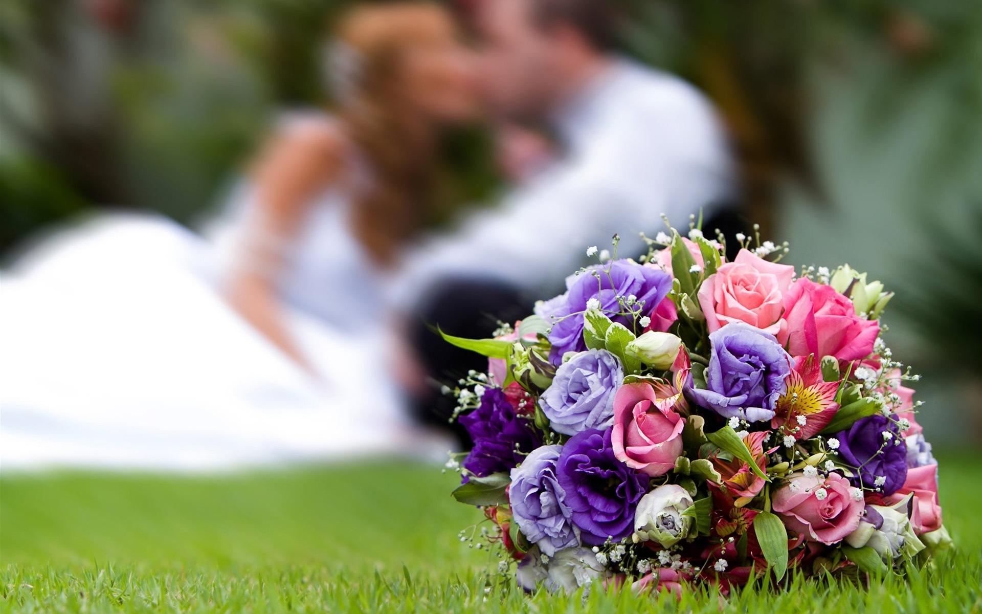 23892 скачать обои Праздники, Цветы, Розы, Букеты, Свадьба - заставки и картинки бесплатно