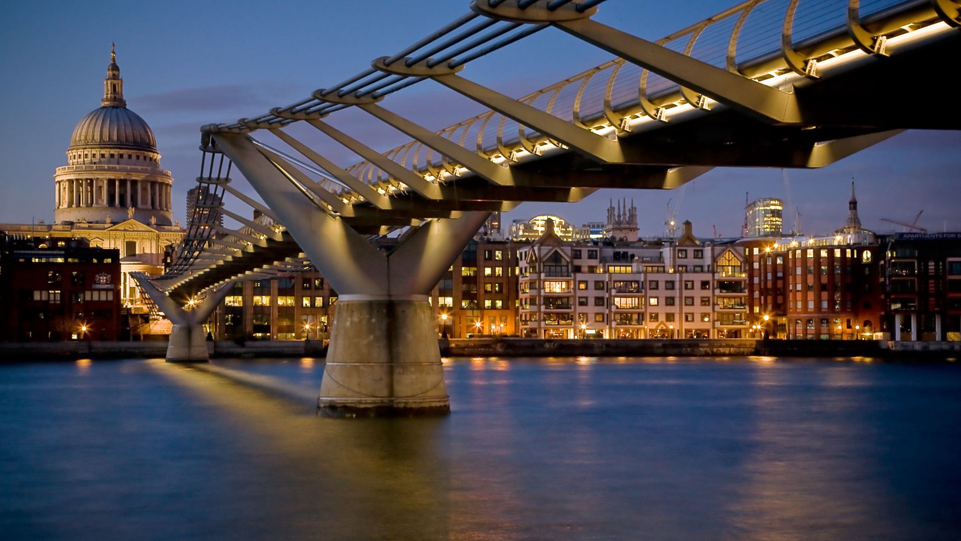 95505 Screensavers and Wallpapers London for phone. Download Cities, Night, London, Building, Bridge pictures for free